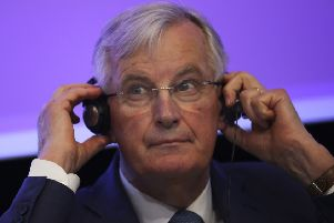 European Union chief Brexit negotiator Michel Barnier. Picture: Photo/Francisco Seco