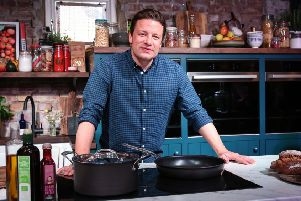 Celebrity chef Jamie Oliver has spoken out against junk food ads aimed at children. Picture: PA