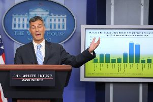 Alan Krueger in his White House days  (Picture: JEWEL SAMAD/AFP/Getty Images)