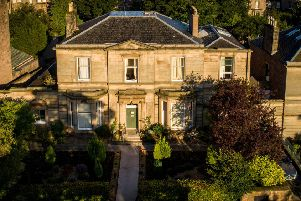Offers over �2.92m were invited ' but the Georgian property was sold off for roughly �3.4m. Picture: contributed.