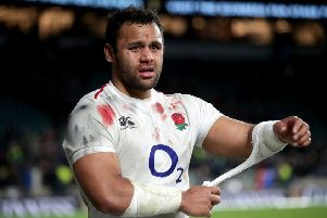 Billy Vunipola featured against Scotland in the epic 38-38 draw. Picture: PA