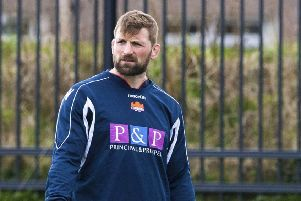 John Barclay will make his long-awaited Edinburgh debut against Leinster. Picture: SNS Group