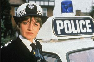 Stephanie Turner as Inspector Jean Darblay in Juliet Bravo ' a role model for aspiring policewomen everywhere