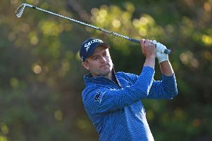 Russell Knox's albatross was the first in the history of the  Valspar Championship. Picture: Getty.