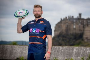 John Barclay is fit again after long-term injury and will line up for Edinburgh against Leinster tonight. Picture: SNS.