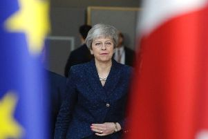 Theresa May has been in discussion with the EU over a delay to Brexit. Picture: Aris Oikonomou/AFP/Getty Images