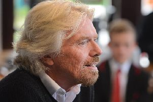 Sir Richard Branson warns Brexit poses a rise to the Union as well as the UK (Picture: Neil Hanna)