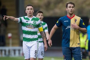 East Kilbride played Celtic in the Scottish Cup back in 2016. Picture: Craig Foy/SNS