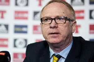 Scotland manager Alex McLeish. Picture: John Devlin