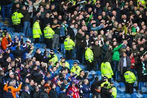 The Scottish Government introduced the Offensive Behaviour at Football Act after an ill-tempered Old Firm match. Picture: SNS