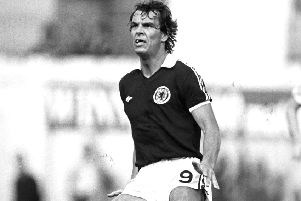 Joe Jordan won 52 caps and played at three World Cups.