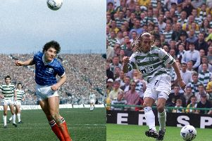 Ally McCoist and Henrik Larsson both enjoyed excellent Old Firm records