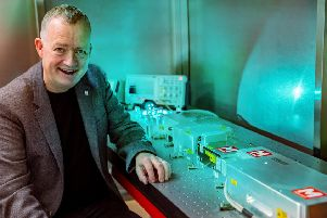 Graeme Malcolm, chief executive and founder of M Squared Lasers. Picture: Nick Callaghan
