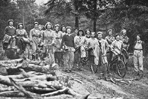 Lumberjills: The forgotten Scottish women who felled stereotypes and saved Britain in World War Two. Picture: Forestry Commission