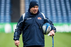 Richard Cockerill says it will be a surprise if Edinburgh beat Munster but they will be 'well prepared'. Picture: SNS/SRU.