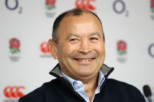 Eddie Jones' future beyond this year's Rugby World Cup is uncertain. Picture: PA.
