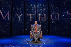 A one-man show by Stephen Fry on Greek mythology is one of the highlights of the EIF's theatre programme this year.