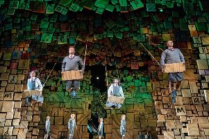The Royal Shakespeare Company's Matilda The Musical PIC: Manuel Harlan