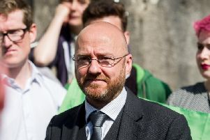 Patrick Harvie hit out at the DUP today