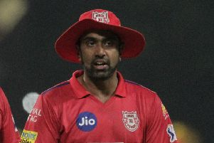 King's XI Punjab captain Ravi Ashwin ran out Jos Buttler in highly controversial circumstances. Picture: Bikas Das/AP