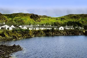 A village in the Scottish Highlands. The Highlands council has cut costs by using a car club