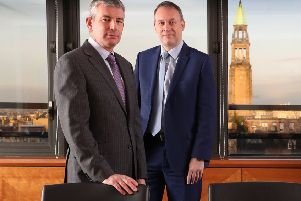 From left: Neil Amner and Bruce Farquhar of Anderson Strathern. Picture: Stewart Attwood
