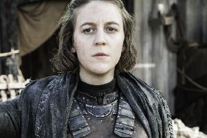 Gemma Whelan as Yara Greyjoy''in HBO's Game of Thrones, back on our screens on 15 April