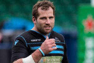 Glasgow Warriors' Fraser Brown. Picture: Ross Parker/SNS