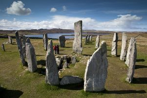 Calanais Standing Stones, Calanais, Isle of Lewis, Outer Hebrides.'To be used in conjunction with VisitScotland's TV Commercial, Surprise Yourself.''Picture Credit: P.Tomkins / VisitScotland /Scottish Viewpoint'Tel: +44 (0) 131 622 7174  'Fax: +44 (0) 131 622 7175'E-Mail : info@scottishviewpoint.com'This photograph cannot be used without prior permission from Scottish Viewpoint.
