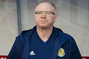 Scotland manager Alex McLeish. Picture: SNS