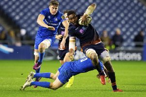 Bill Mata will be key to Edinburgh's hopes against Munster. Picture: SNS Group