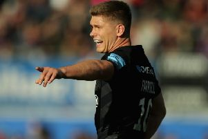 Owen Farrell is out of Saracens' Euro clash with Glasgow