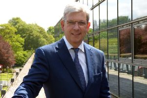 Chief executive Angus MacSween says Iomart has delivered yet another year of growth. Picture: Contributed
