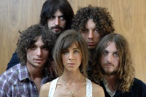 The Zutons PIC: Robert Perry