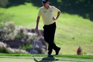 The way Stephen Gallacher closed out his Indian Open win was 'amazing' says Alan McCloskey. Picture: Getty.