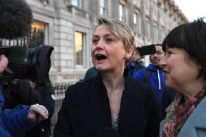 Labour's Yvette Cooper, one of the MPs behind a cross-party effort to stop a no-deal Brexit, said the UK could need its own Smith Commission to find a compromise