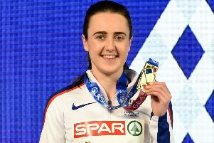 Laura Muir: Did the 'double-double' at European Indoors. Picture: SNS