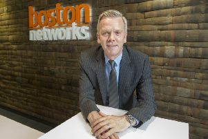Boston Networks chief executive Scott McEwan says the synergies are 'obvious'. Picture: Peter Devlin.