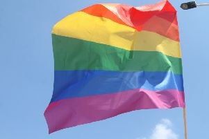 The rainbow flag. Gay sex is punishable by death under new laws in Brunei