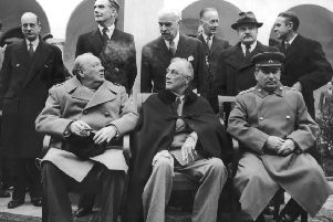 Even though Richard Sorge was one of his most effective spies, providing evidence that the Germans were planning to invade Russia in June 1941, Stalin (pictured here at with Churchill and Roosevelt at Yalta in 1945) never really trusted him. PIC: Keystone Features/Getty Images