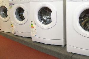 Washing machines were responsible for 30 per cent of house fires caused by appliances.