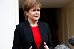 Nicola Sturgeon said Brexit proved the benefits of independence in Europe. Picture: Tolga Akmen/AFP/Getty Images