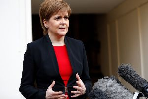 The First Minister says Theresa May won't be in power to stop a second independence referendum. Picture: AFP/Getty Images