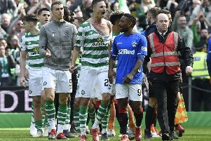 Celtic and Rangers have been charged following the scenes at the end of Sunday's match. Picture: Ian Rutherford/PA Wire