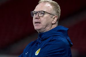 Scotland manager Alex McLeish attended a meeting at Hampden. Picture: Alan Harvey/SNS