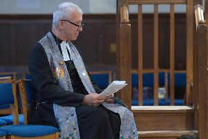 Rev Richard Frazer. Picture: Neil Hanna