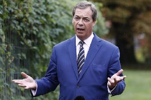Brexit Party leader Nigel Farage. Picture Odd Andersen/Getty Images