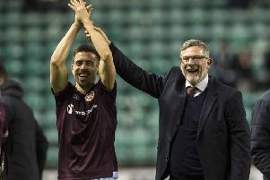 Hearts manager Craig Levein and Olly Lee will be looking for more celebrations. Picture: SNS/Alan Harvey