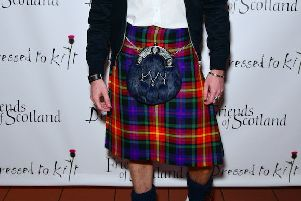 The new tartan was unveiled on the New York catwalk.