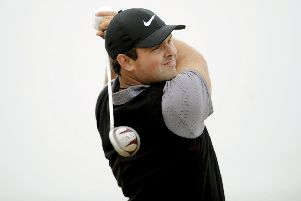 Patrick Reed in action. Pic: Michael Gillen